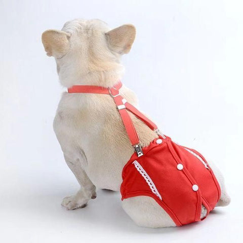 Medium Dogs Diaper Sanitary Panties - Frenchiely