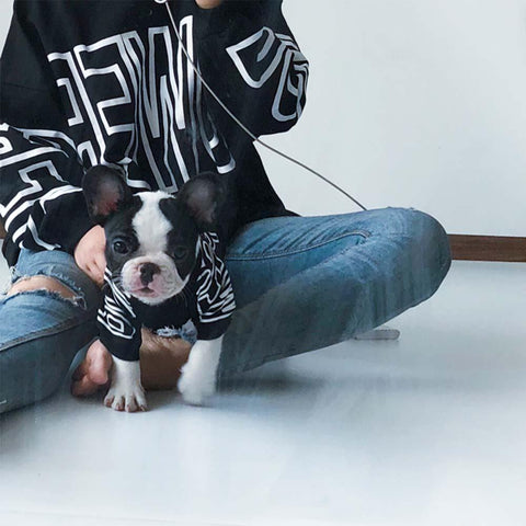 Dog and Human Matching Shirts-Power - Frenchiely