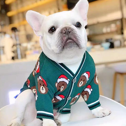 Christmas Sweater for French Bulldog - Frenchiely