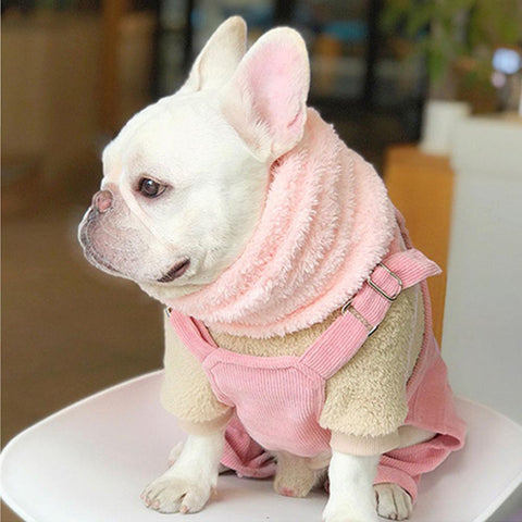 dog infinity scarf for medium dogs - Frenchiely