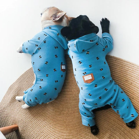Dog Winter Onesie Pajamas - Frenchiely