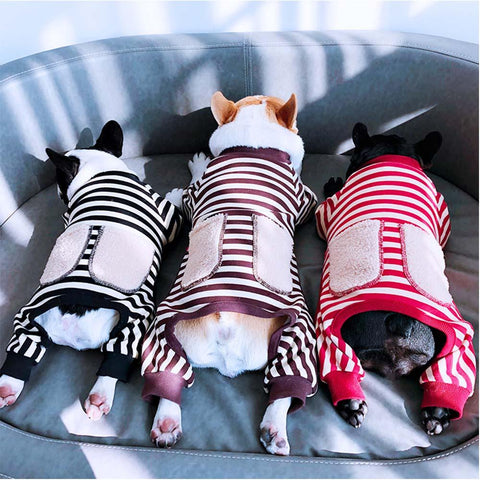 French Bulldog Pajamas for Dogs with Pocket - Frenchiely