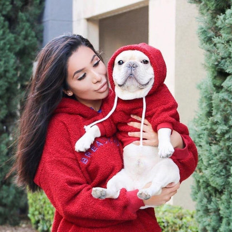 Matching Human and Dog Outfits Sweatshirt - Frenchiely