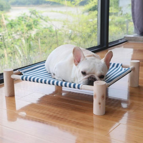 Dog Summer Hammock Bed for Medium-sized French Bulldog - Frenchiely