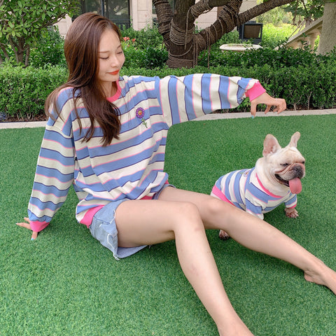 matching dog and owner apparel - Frenchiely