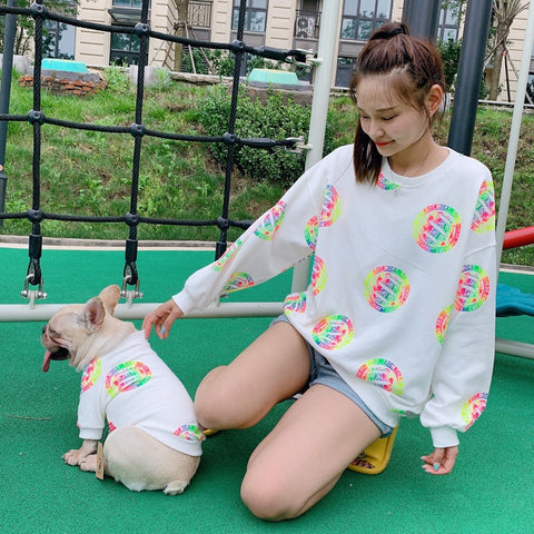 Dog and Human Matching Clothes Outfits