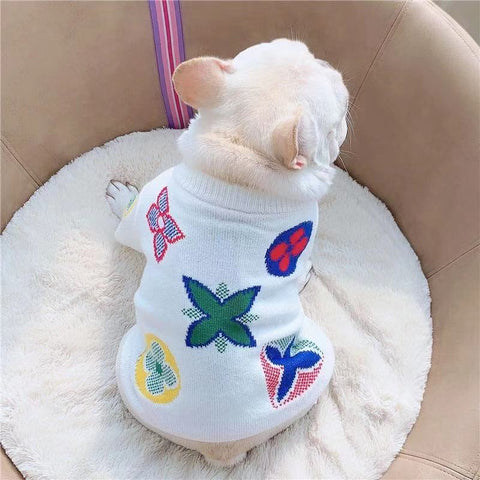 French Bulldog Winter Sweater Pullover - Frenchiely