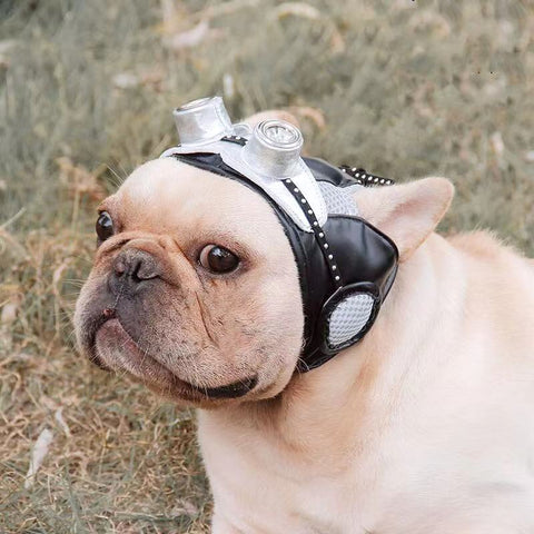 Dog Retro Pilot Costume Cap - Frenchiely