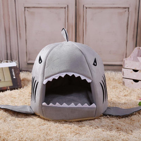 Dog Cartoon Shark House Bag for French Bulldogs - Frenchiely