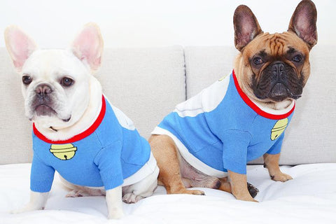 Cartoon Dog Pokonyan Doraemon Sweater - Frenchiely