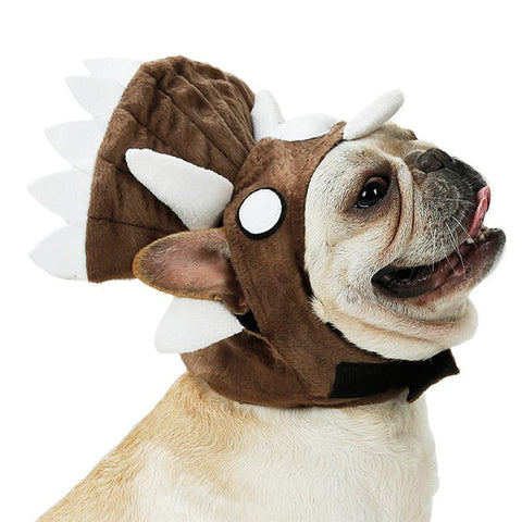 Dog Halloween Dinosaur Costume Outfits For Bulldog - Frenchiely
