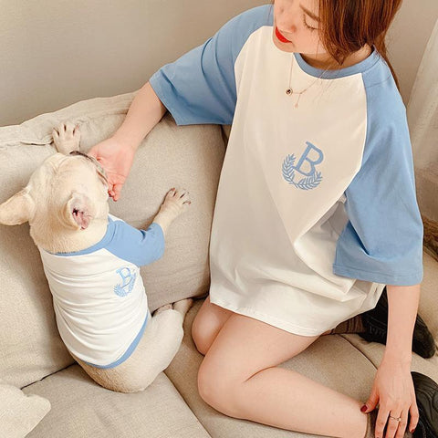 Summer Matching Shirts for Human and Dog - Frenchiely