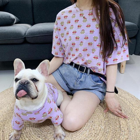 Matching Dog Shirts for Bulldogs - Frenchiely