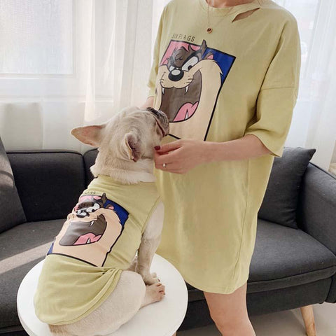 Summer Human Dog Matching Clothes - Frenchiely