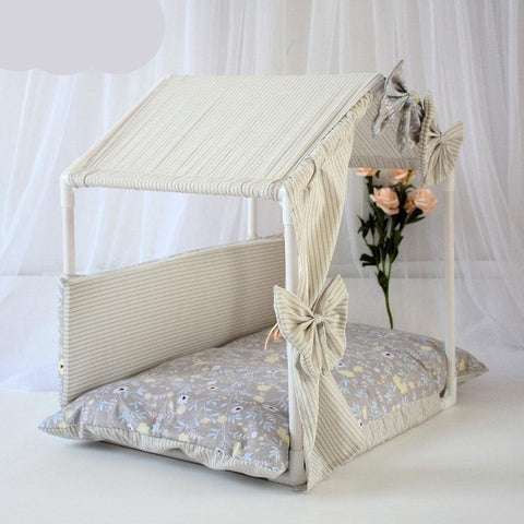 Dog Bed Tent House Sofa
