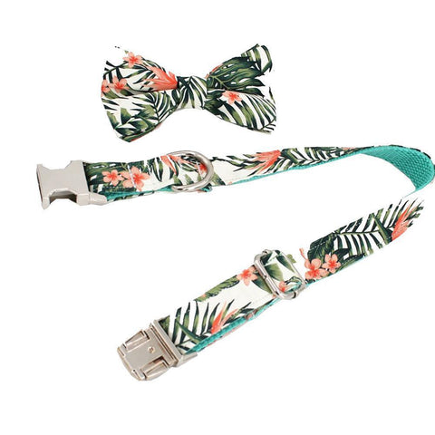 french bulldog collars tropical vibes - Frenchiely