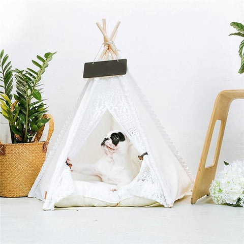 Dog Tent Bed House - Frenchiely