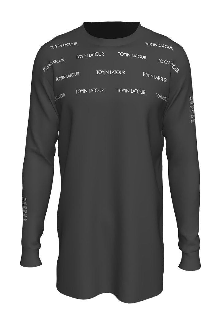 Toyin LaTour Reflective Long Sleeve Tee