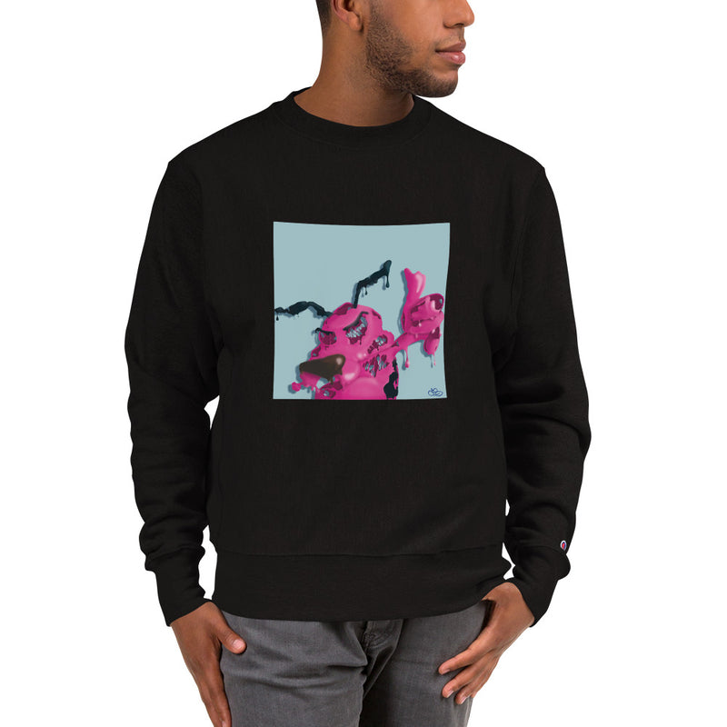 Courage the Cowardly Dog x Champion Sweatshirt