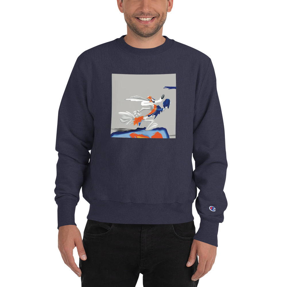 Drip Wile E. Coyote Champion Sweatshirt