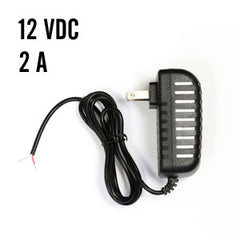 12 VDC POWER SUPPLY, 2 A for Z-Wave RGBW Dimmers and 12 V LED Strips