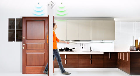 Fibaro Z‑Wave Plus Motion Sensor FGMS‑001 ZW5 Motion Detection
