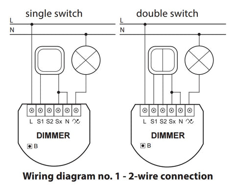 fibaro-z-wave-plus-dimmer-2-fgd-212 Wiring Diagram