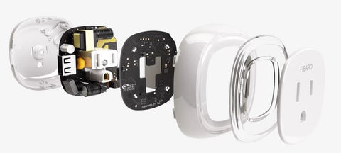 Fibaro Z-Wave Plus Wall Plug with USB Charging Port FGWPB-121 is designed to control all types of load