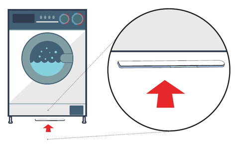 Sensative Strips Drip Z-Wave Plus Indoor / Outdoor Ultra Thin Leak Sensor Installed under Washer