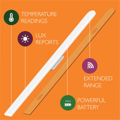 Sensative Z-Wave Plus Strips Comfort Temperature and Light Sensor Features