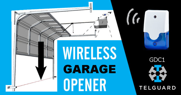 Telguard Gdc1 Z Wave Garage Door Opener Review The