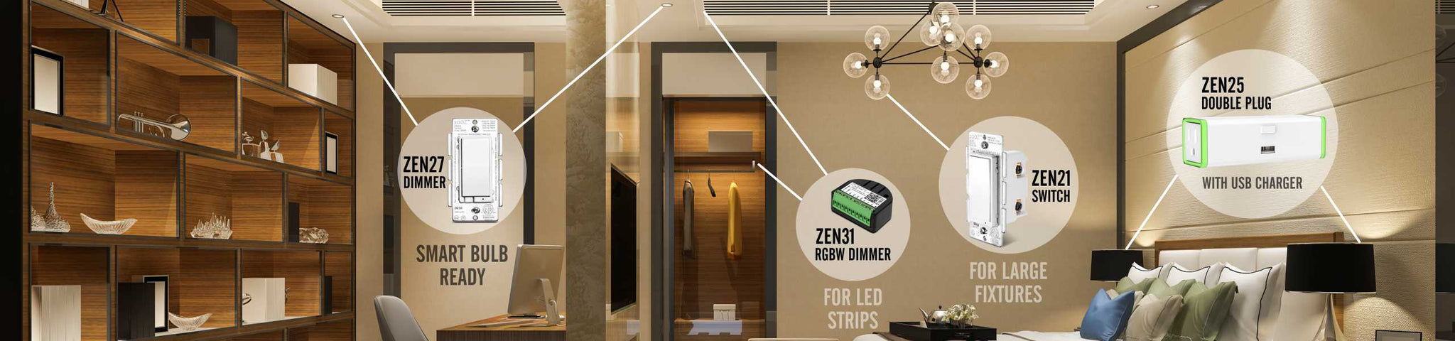 Zooz Smart Light Switches and Plugs Z-Wave Deals