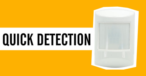 Ecolink Z-Wave Plus PIR Motion Detector PIRZWAVE2.5-ECO is the quickest to detect motion