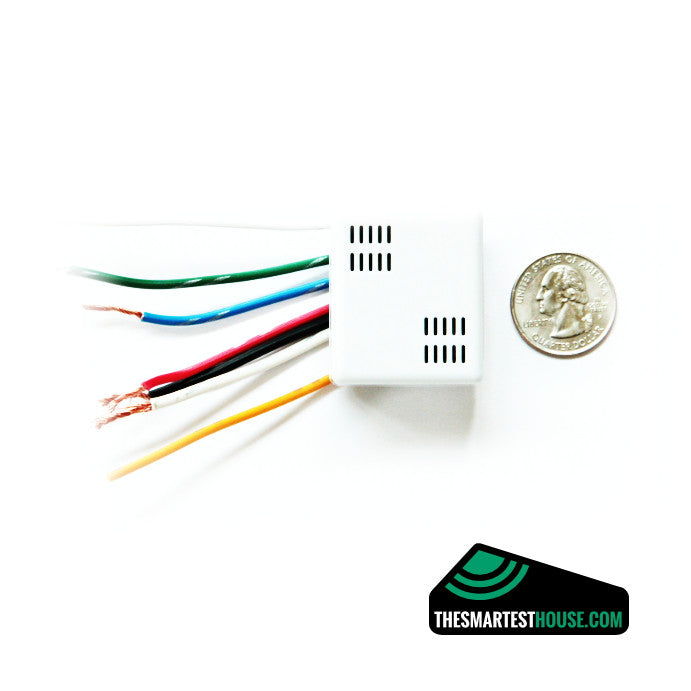 Vision ZL 7432US In Wall Switch, 2 Relays size image