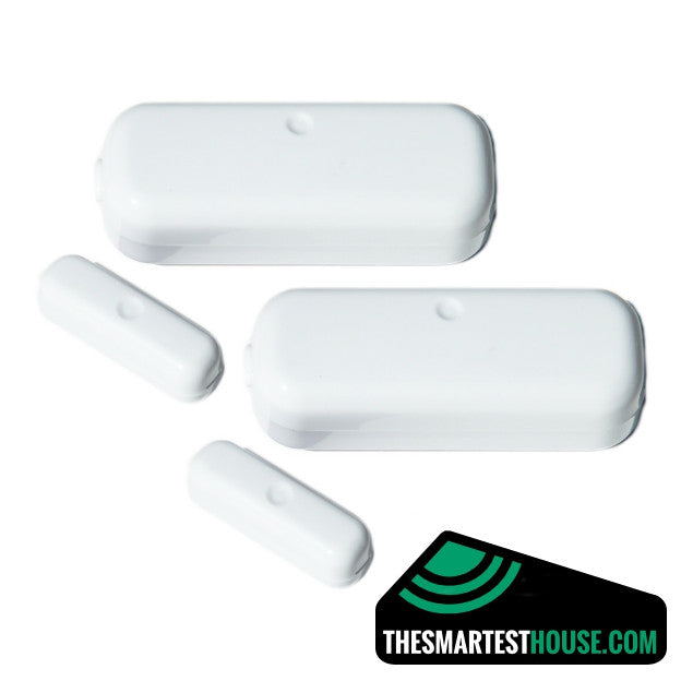 Aeotec by Aeon Labs Z-Wave Magnetic Door / Window Sensor DSB29-ZWUS 2nd Edition - 2 PACK Large