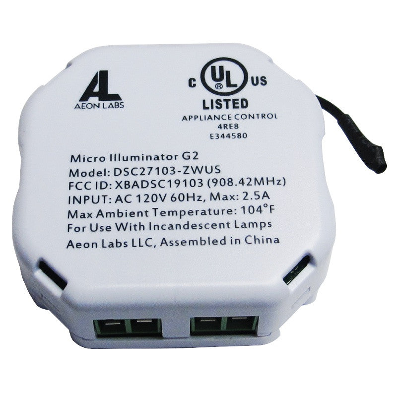Aeotec by Aeon Labs Micro Dimmer DSC27103 ZWUS large image front