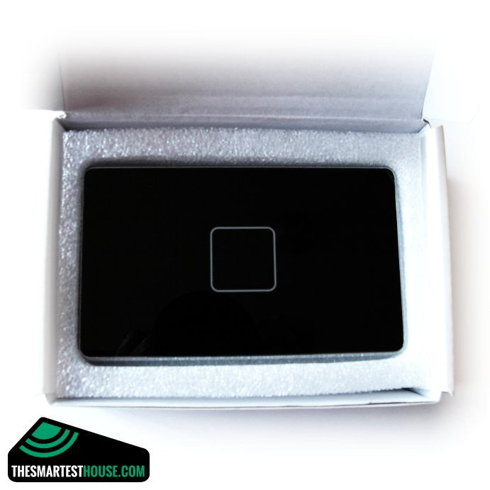 Aeotec by Aeon Labs Z-Wave Touch Panel for Micro AL001 black boxed image