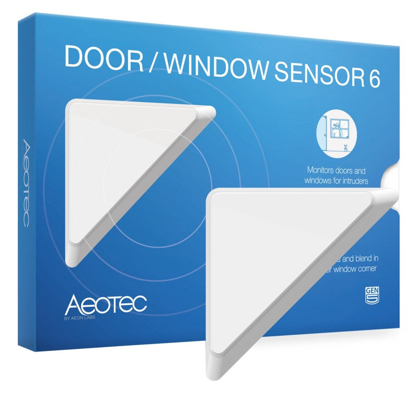 Aeotec by Aeon Labs Z-Wave Plus Door Window Sensor 6 ZW112 packaging