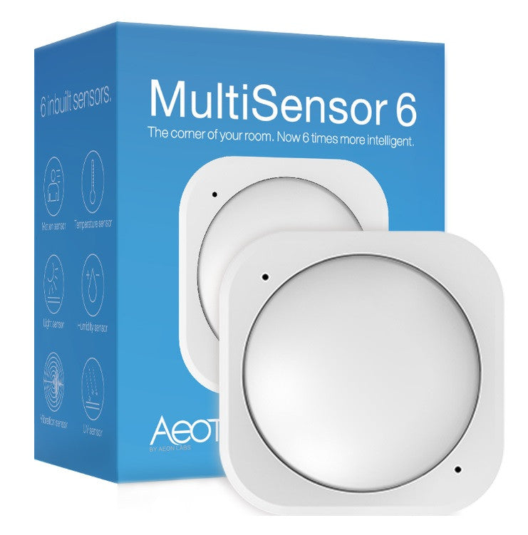Aeotec by Aeon Labs Gen 5 Z-Wave Plus 6-in-1 Multisensor 6 packaging