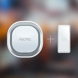 Aeotec Z-Wave Plus Doorbell 6 ZW162 siren and button