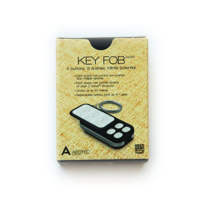 Aeotec Key Fob Remote Control European Version Box