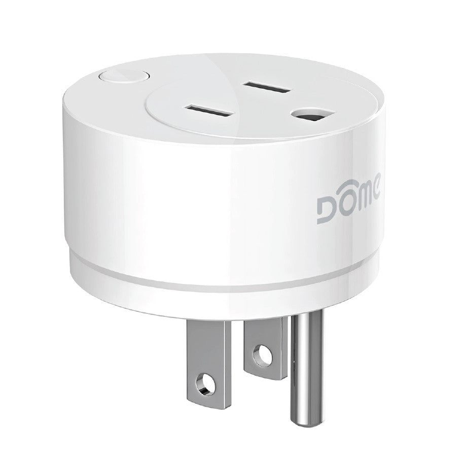 Dome Z-Wave Plus Miniature On/Off Plug DMOF1 Side view