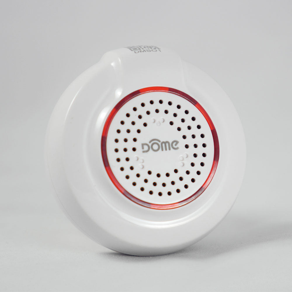 Dome Z-Wave Plus Wireless Siren DMS01 Side View
