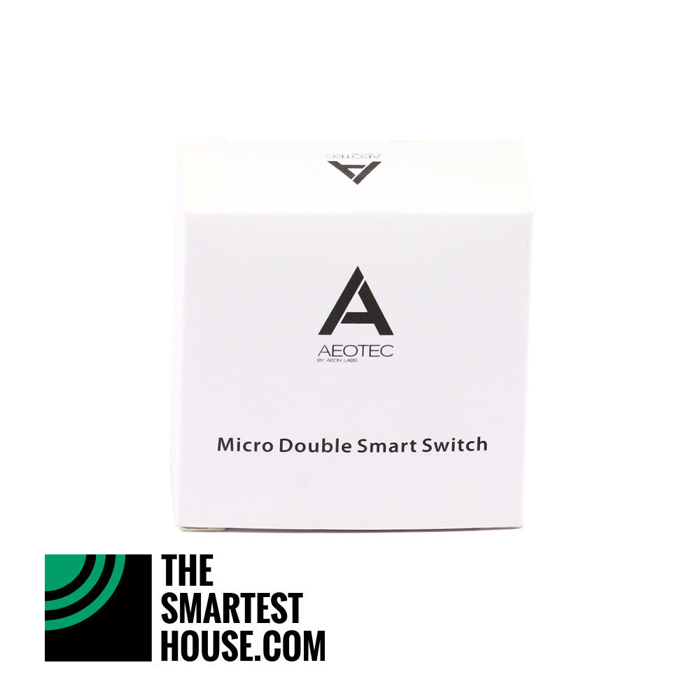 Aeotec by Aeon Labs Z-Wave Micro Double Smart Switch DSC17103 packaging
