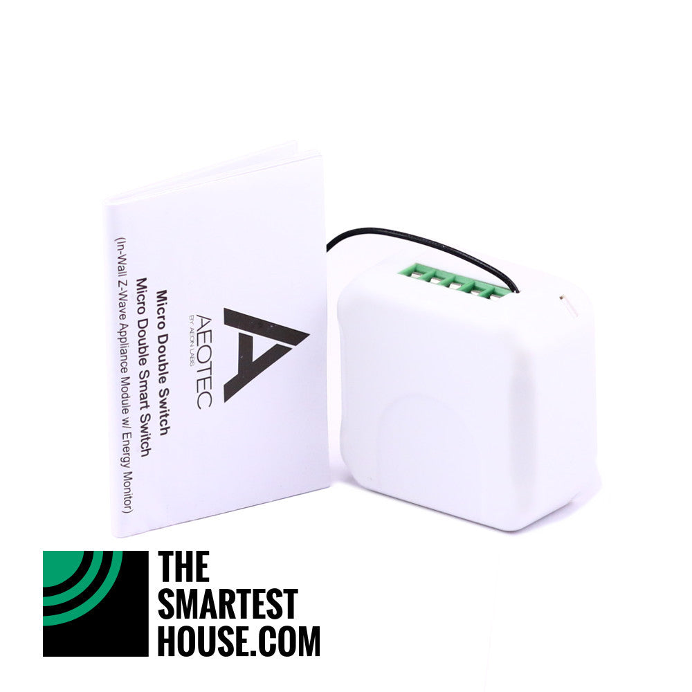 Aeotec by Aeon Labs Z-Wave Micro Double Smart Switch DSC17103 accessories