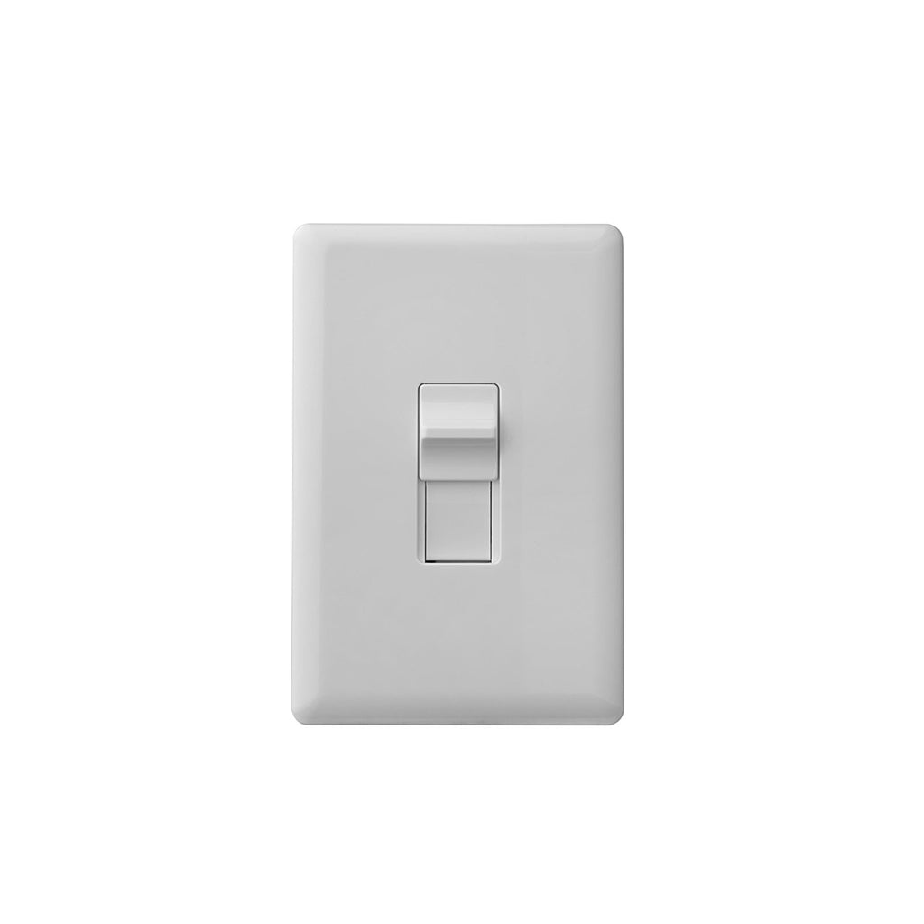 Ecolink Z-Wave Plus Single Gang Toggle Wireless Light Switch TLS-ZWAVE5 front