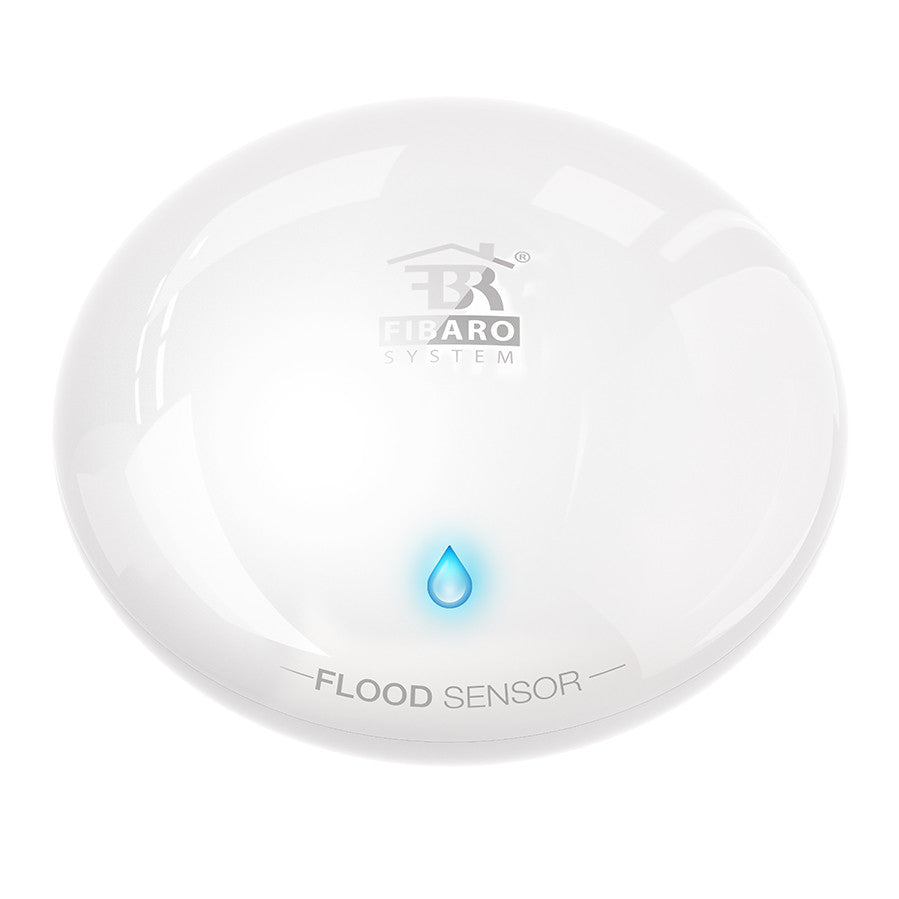 FIBARO Z-Wave Plus Flood and Temperature Sensor FGFS-101 300 Series top view