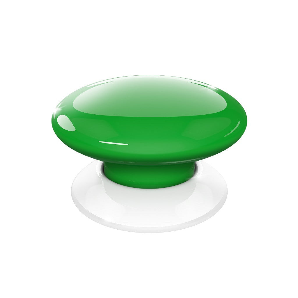 Fibaro Button Z-Wave Plus Scene Controller FGPB-101-5 Green