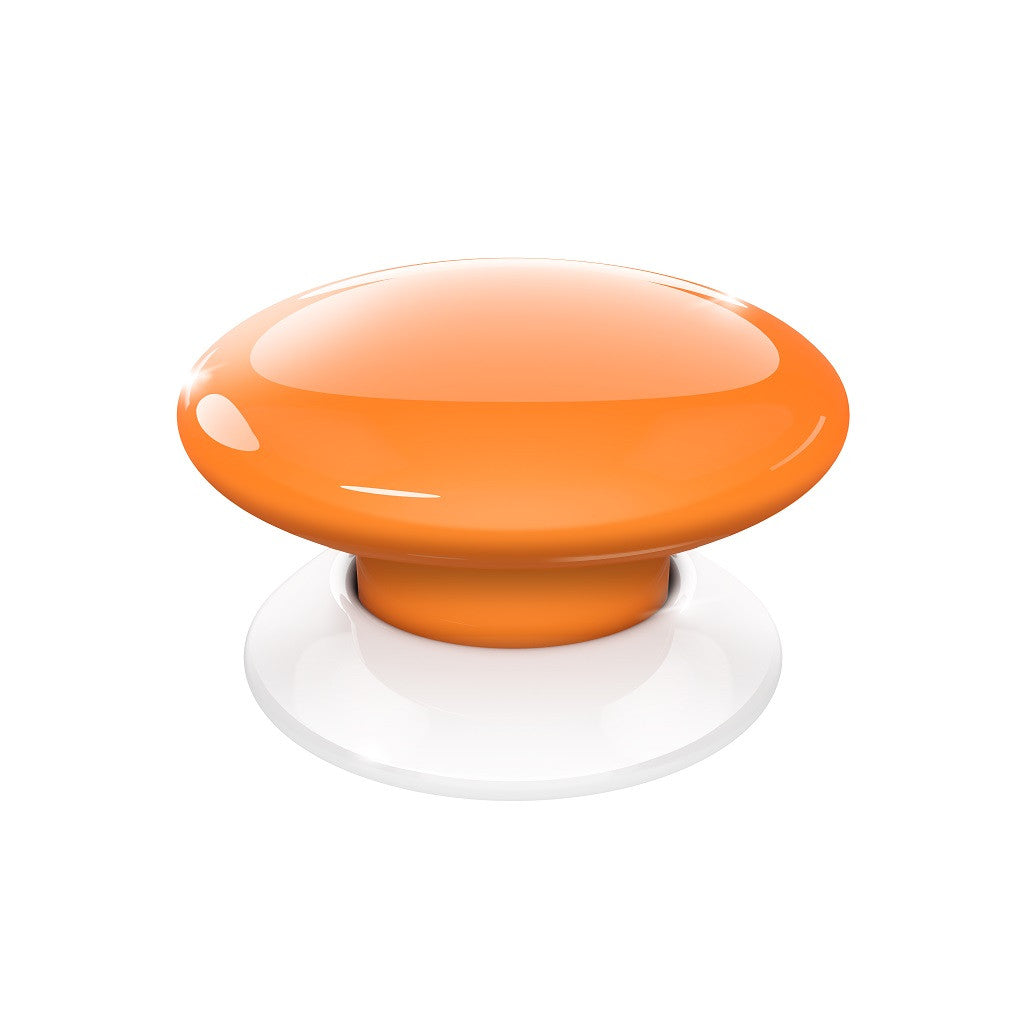 Fibaro Button Z-Wave Plus Scene Controller FGPB-101-8 Orange