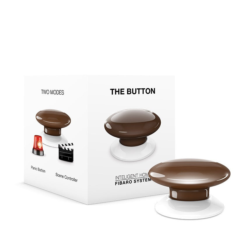 Fibaro Button Z-Wave Plus Scene Controller FGPB-101 packaging